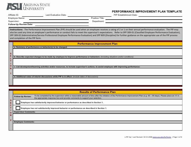 Performance Management Plan Template Unique Implementing Program Management Templates for Success