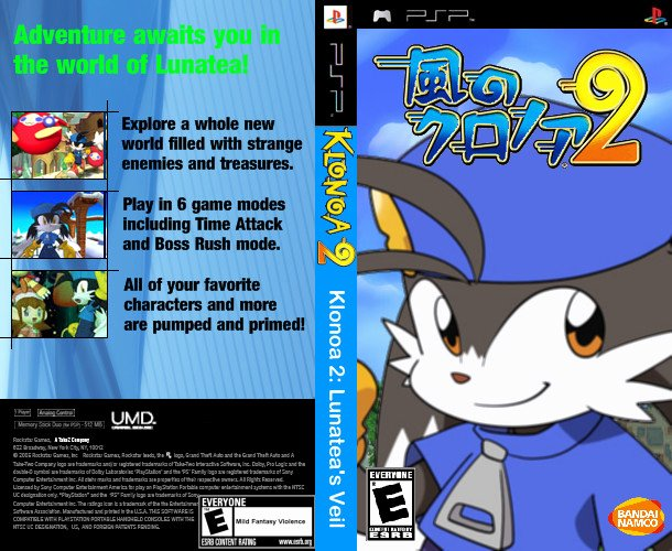 Persona Oc Template Awesome Klonoa Psp by Darkzorel On Deviantart