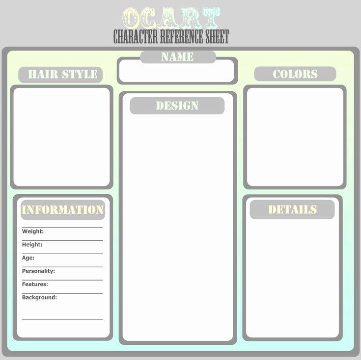 Persona Oc Template Fresh Ocart Character Ref Template by thepurplecatviantart