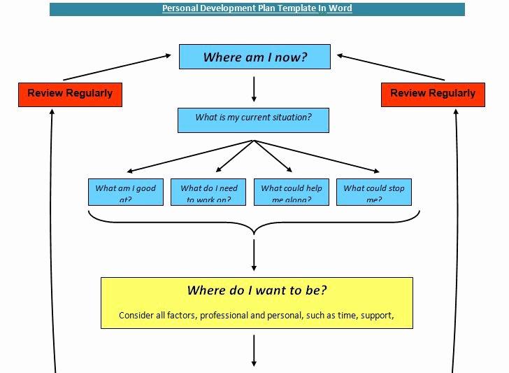 Personal Development Plan Template Fresh Personal Development Plan Template In Word