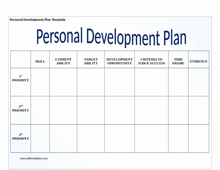 Personal Development Plan Template Inspirational Personal Development Plan Template How to Write Personal