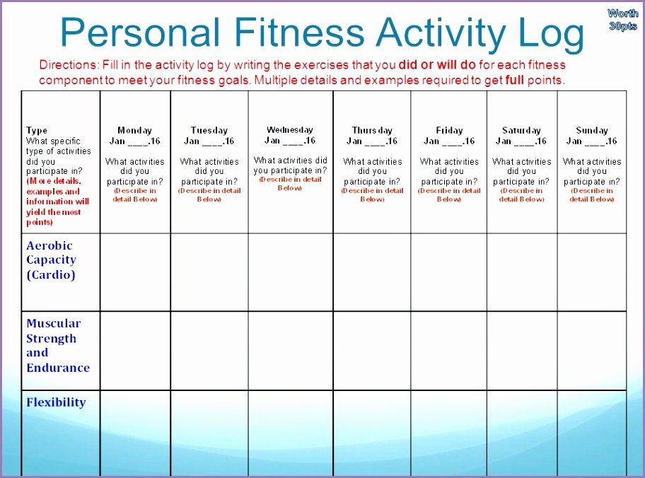 Personal Fitness Plan Template Luxury Personalized Workout Plan – Blog Dandk