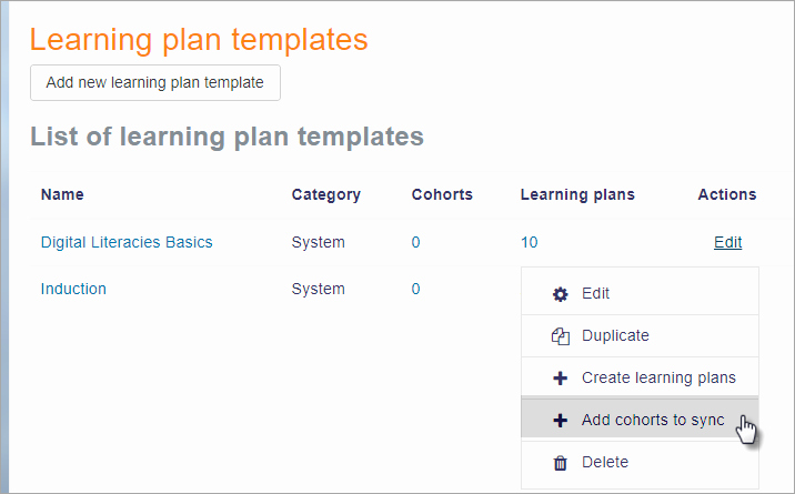 Personal Learning Plan Template Luxury Learning Plans Moodledocs