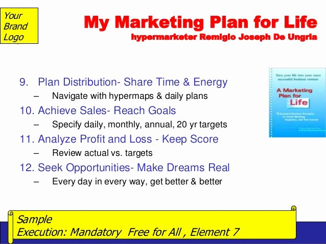 Personal Marketing Plan Template Awesome Prof Remigio De Ungria S Downloadable Template for Hyper3