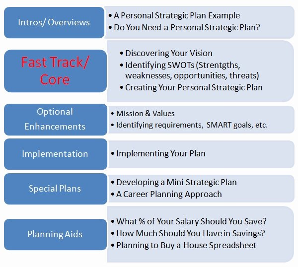 Personal Strategic Plan Template Luxury Observations Personal Strategic Planning Schematic