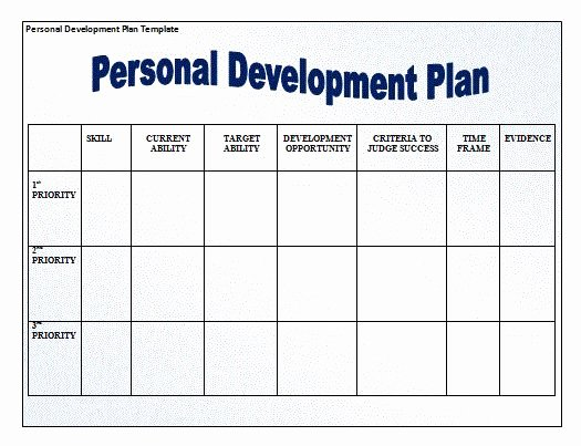 Personalised Learning Plan Template Luxury for Those that are Looking to Develop Grow as People