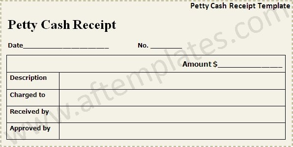 Petty Cash Receipt Template Fresh Cash Receipt Template