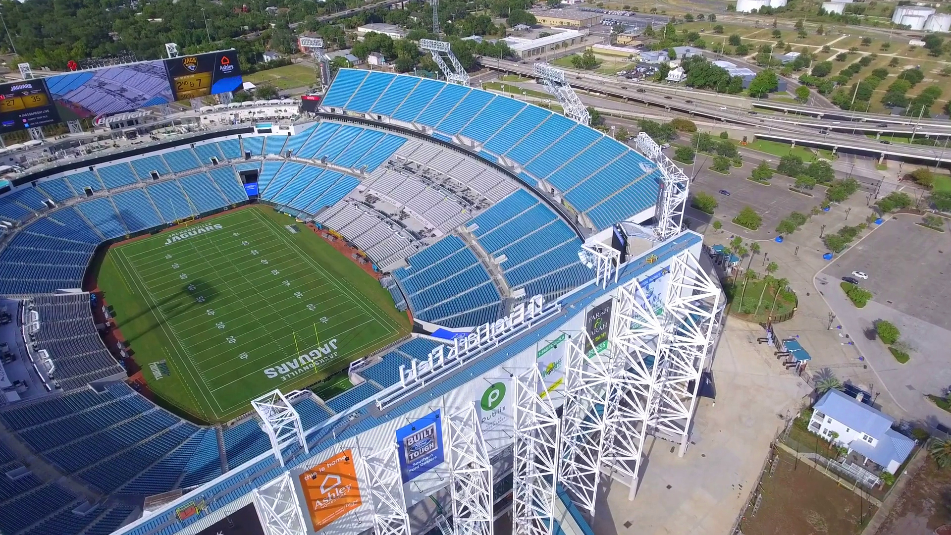 Phantom Stock Agreement Template Awesome Aerial Drone Video Everbank Field Jacksonville Stock Video