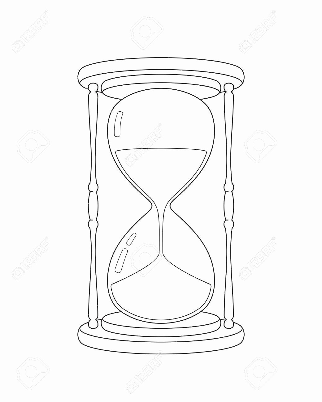 Phantom Stock Agreement Template Lovely Hourglass Drawing at Getdrawings
