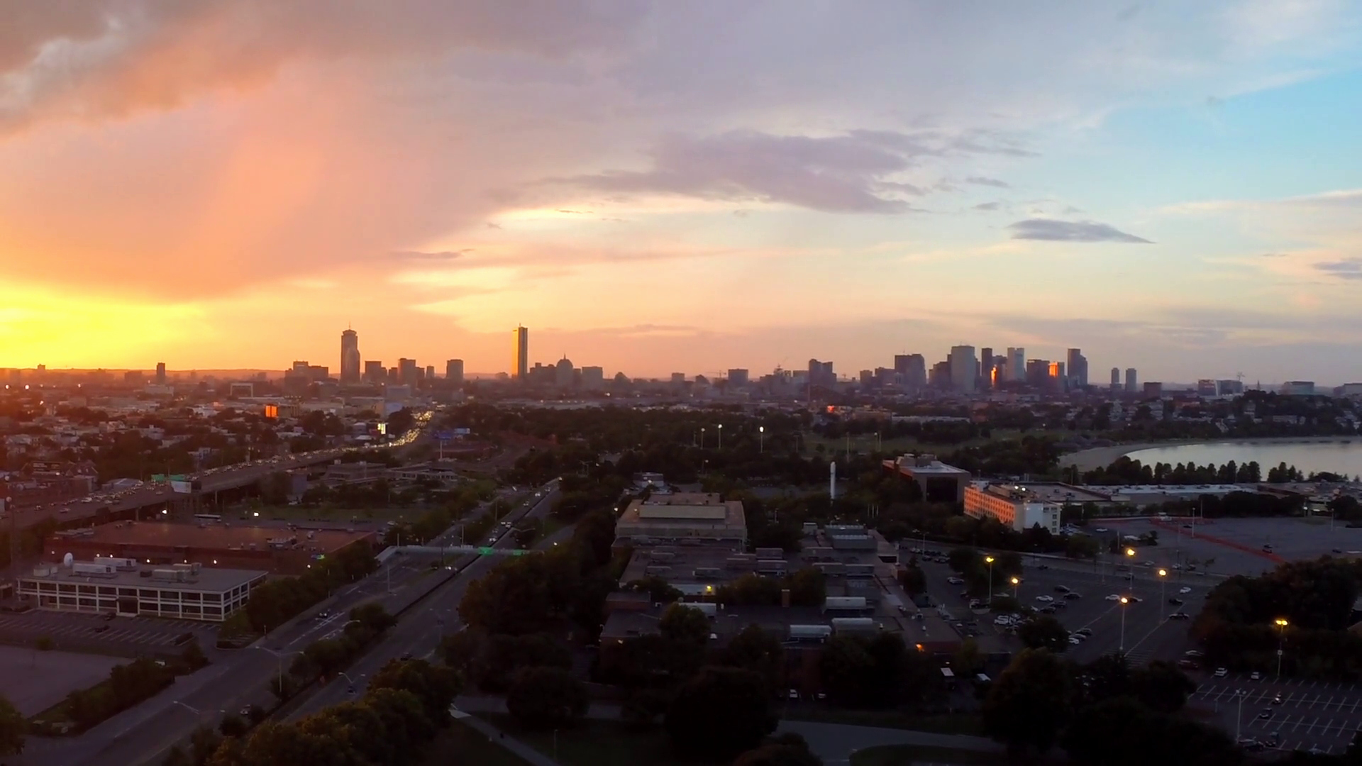 Phantom Stock Agreement Template Lovely Stationary Aerial View Boston Skyline with Sunset Fast