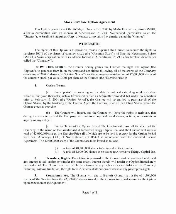 Phantom Stock Agreement Template New Phantom Stock Agreement Template Fxbaseball