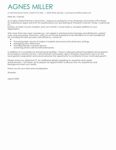 Pharmacist Letter Of Recommendation Sample Fresh Pharmacy Letter