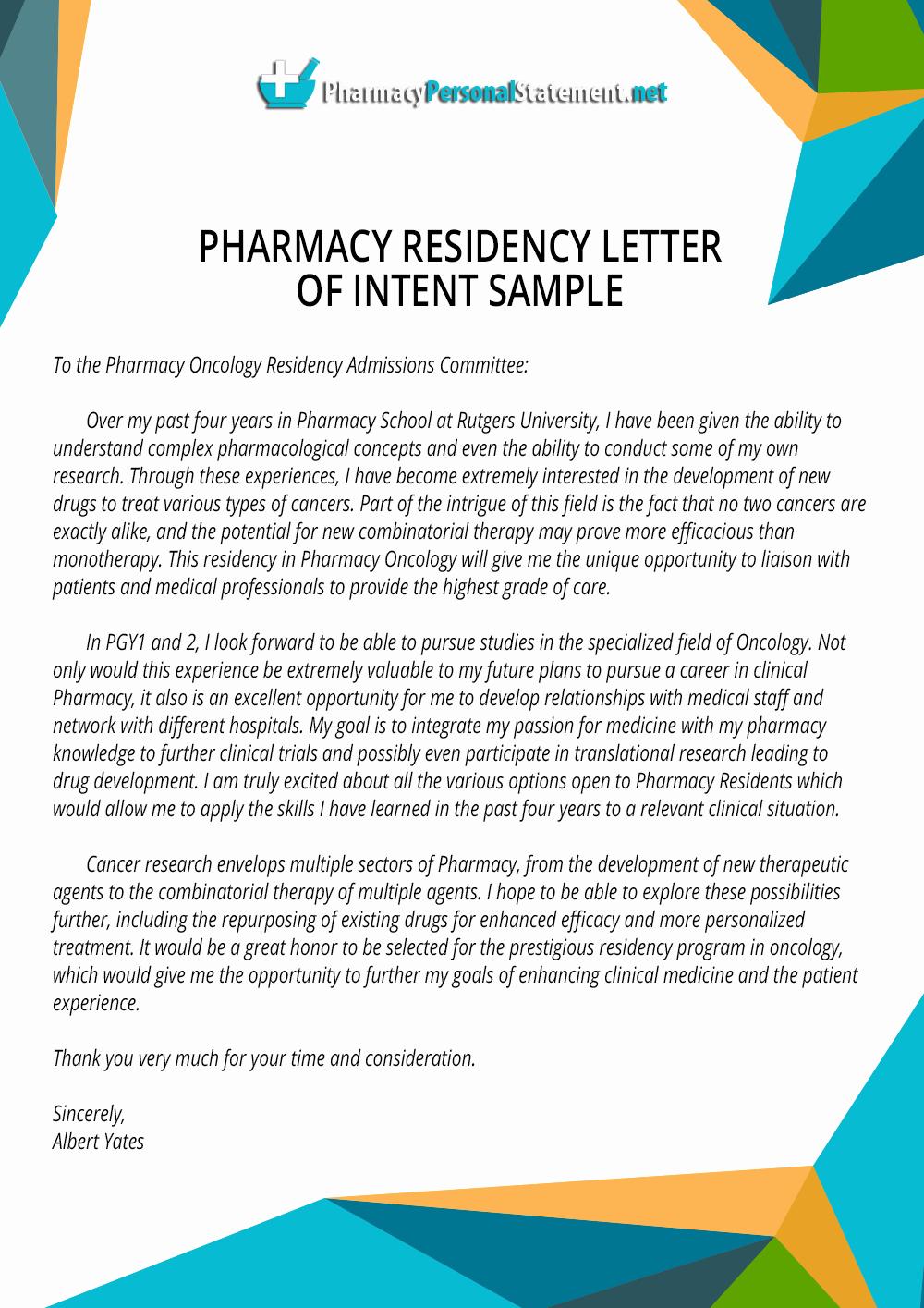 Pharmacy Residency Letter Of Recommendation Best Of Pin by Pharmacy Application Samples On Pharmacy Residency