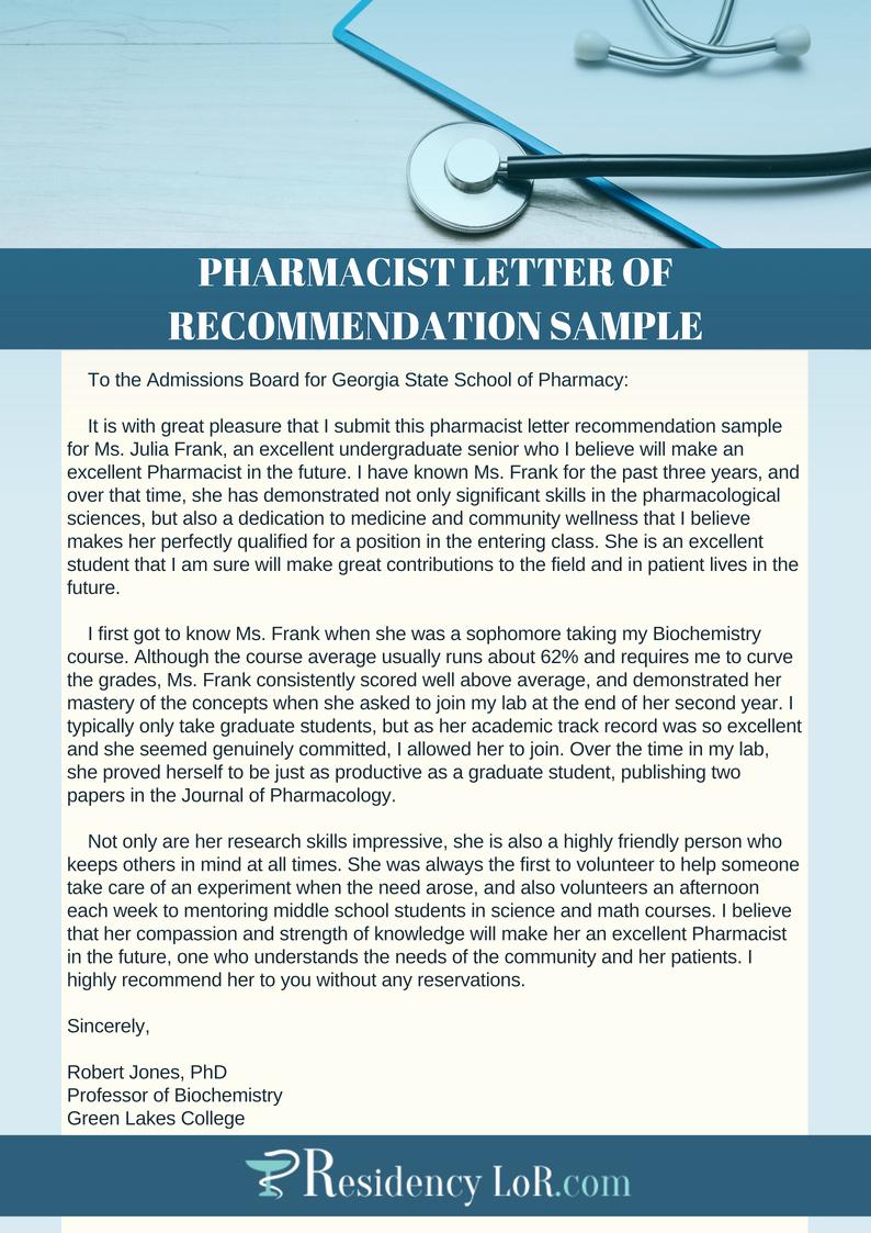 Pharmacy Residency Letter Of Recommendation New Excellent Pharmacy Letter Of Re Mendation Writing Help
