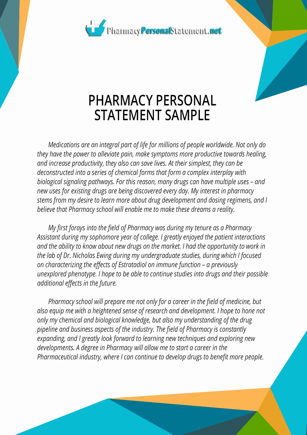 Pharmacy School Recommendation Letter New How We Write the Best Pharmacy Personal Statement