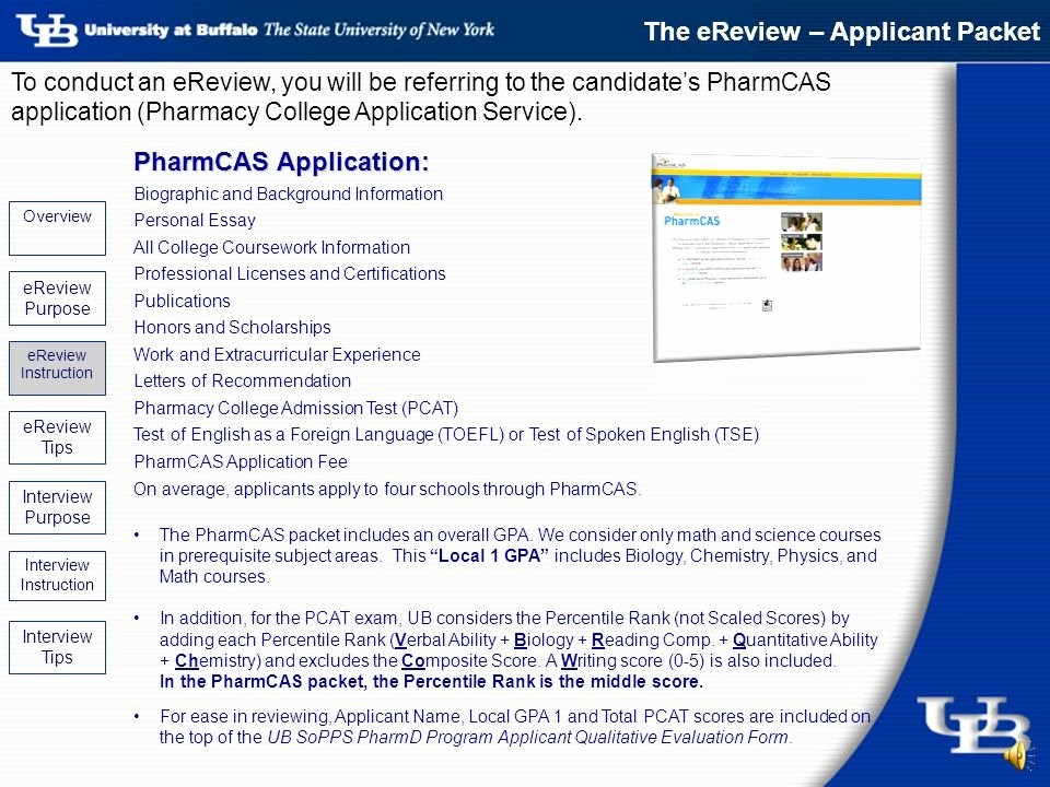 Pharmcas Letter Of Recommendation Elegant Admissions Ereview & Interview Update Ppt