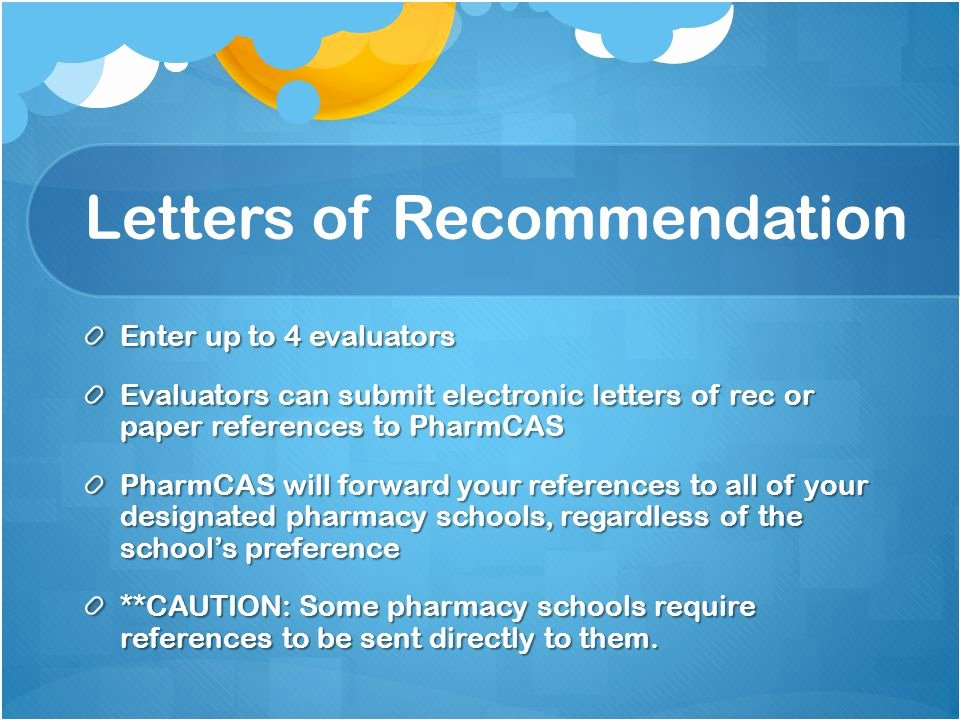 Pharmcas Letter Of Recommendation Luxury What is Pharmcas by Teresa and Eman Ppt Video Online