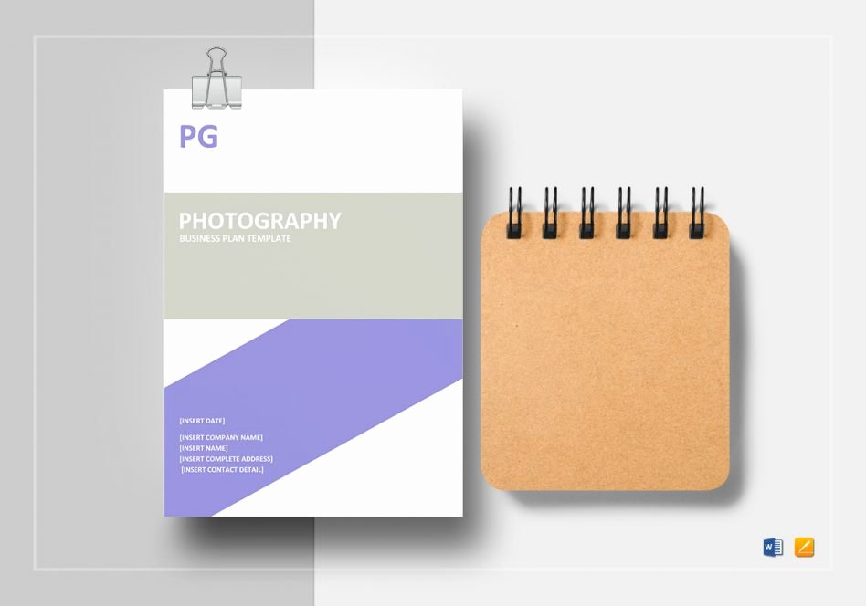 Photography Business Plan Template Lovely Business Plan Template E Page Word Works Cmerge Plans