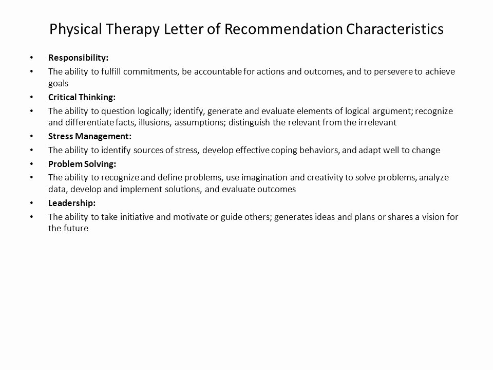 Physical therapy Letter Of Recommendation Luxury First Day Of Class Anatomy Bio Ppt
