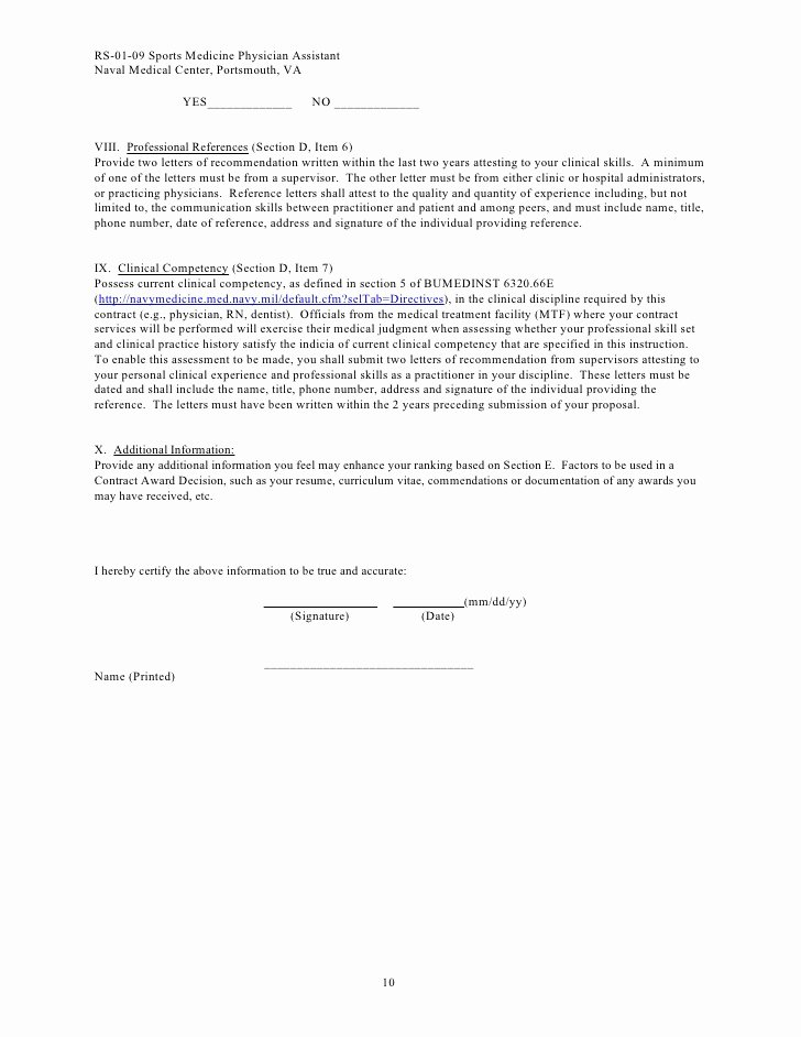 Physician assistant Letter Of Recommendation Elegant Pricing Sheet Sports Medicine Physician assistant
