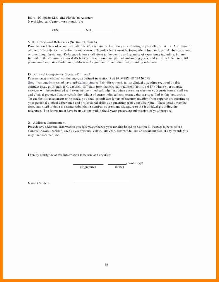 Physician assistant Letter Of Recommendation Unique 5 Letter Of Re Mendation for A Medical assistant