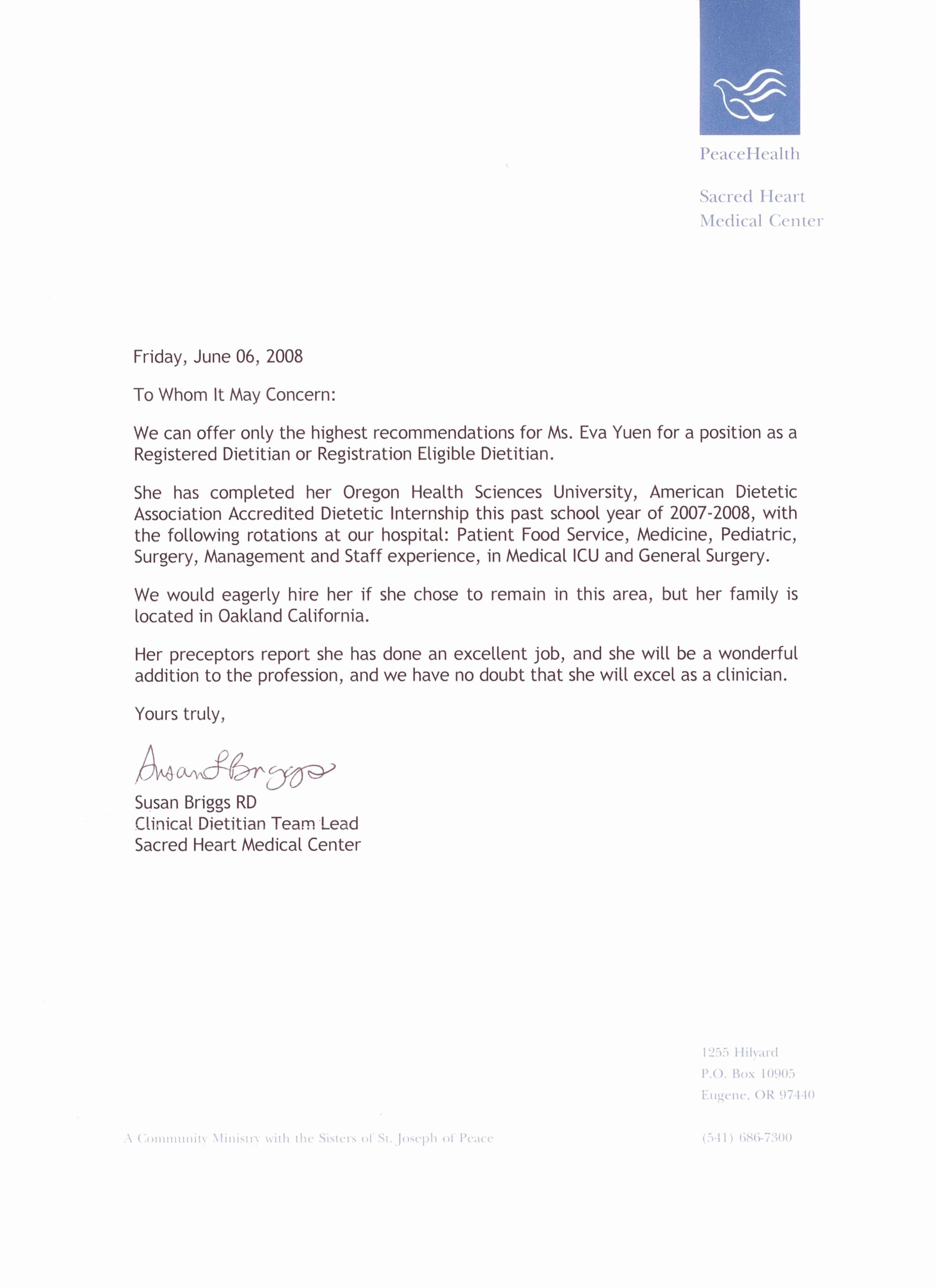 Physician Letter Of Recommendation New How to Write A Re Mendation Letter for A Student for
