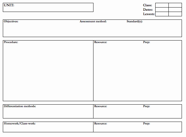 Piano Lesson Plan Template Best Of What Does Your Lesson Plan Template Look Like