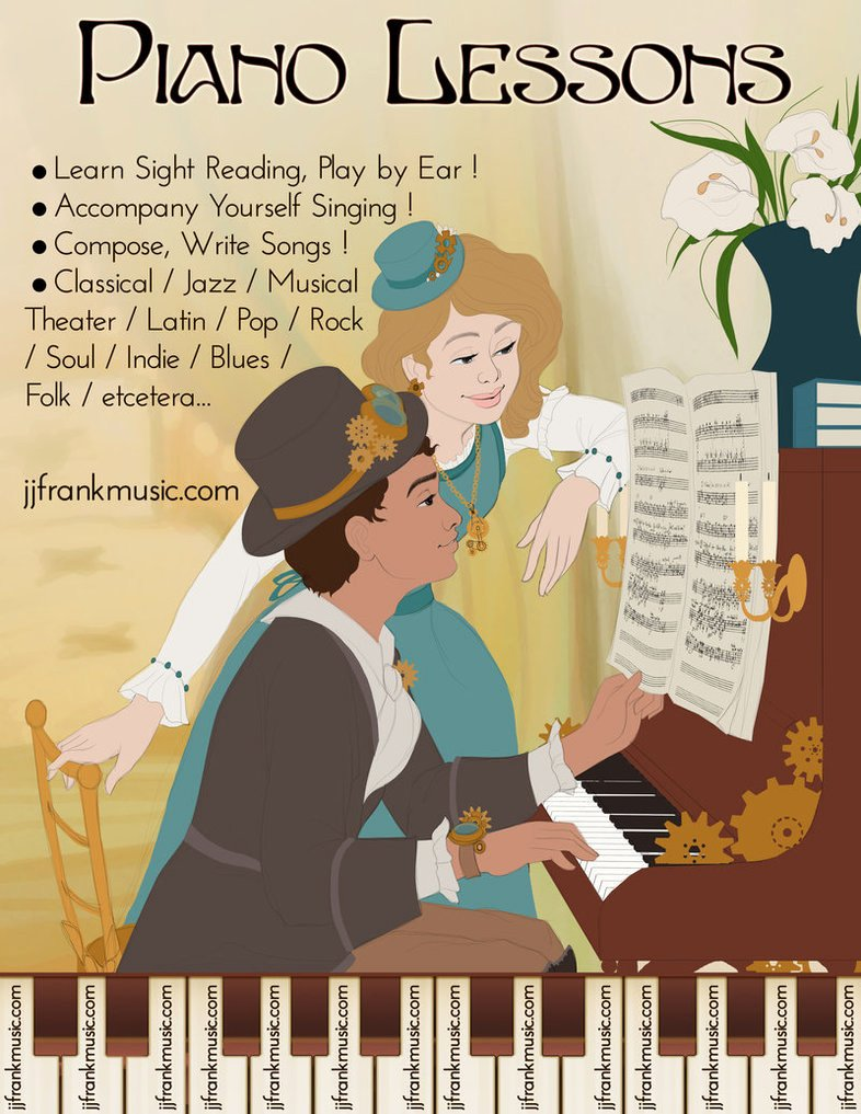 Piano Lesson Plan Template Inspirational Piano Lesson Flyer Renoir Spoof by Madam Marla On Deviantart