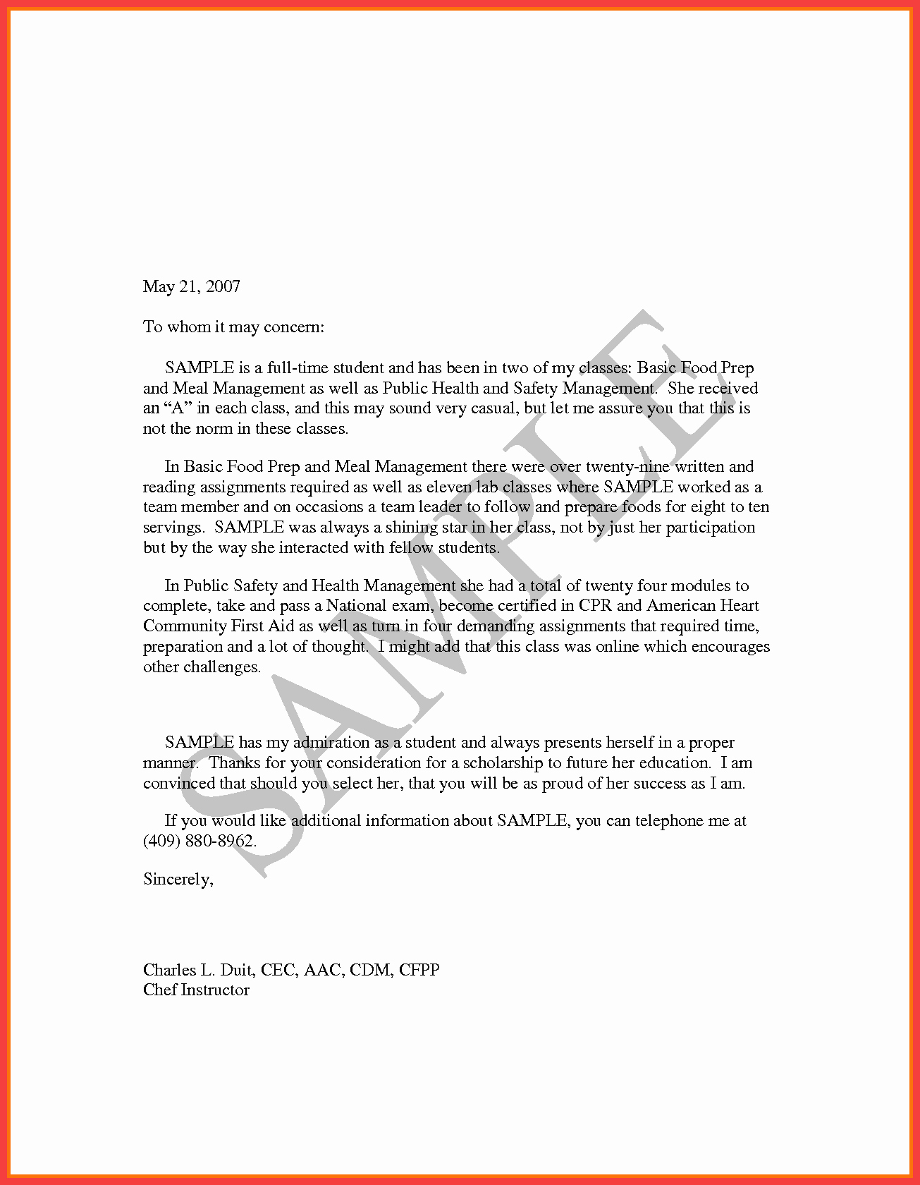 Pilot Letter Of Recommendation New Pilot Re Mendation Letter