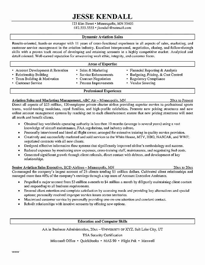 Pilot Letter Of Recommendation Unique Cover Letter Aviation Industry