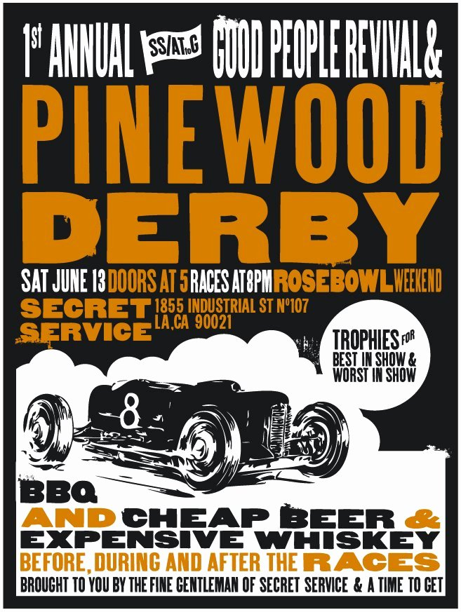 Pinewood Derby Flyer Template Elegant 1st Annual Ss attog Good People Revival & Pinewood Derby