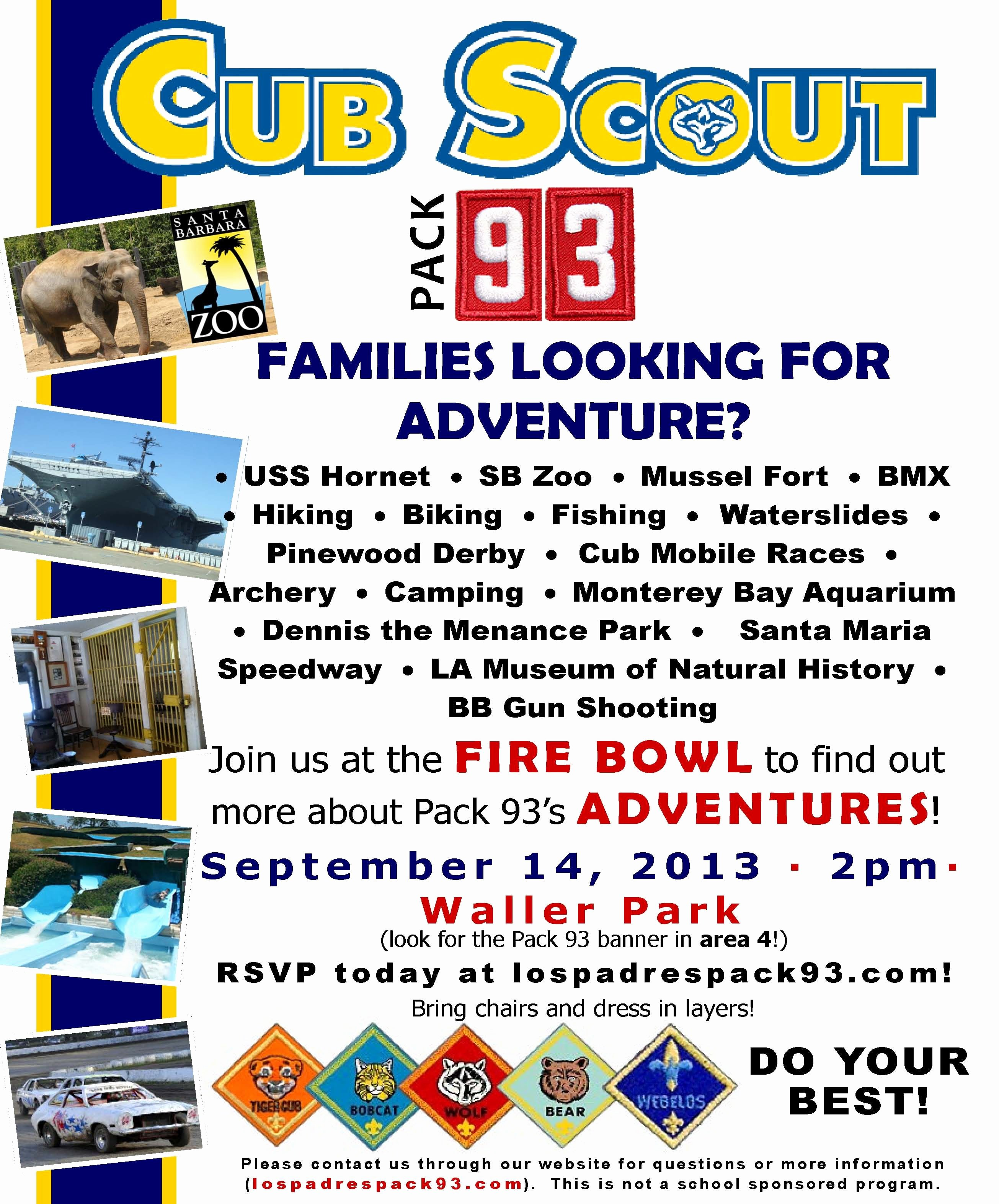 Pinewood Derby Flyer Template Inspirational Cub Scout Recruiting Flyer Cub Scout Pack 360