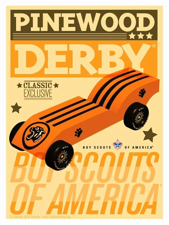 Pinewood Derby Flyer Template Lovely Pinewood Derby Poster Created for the 2009 Licensing
