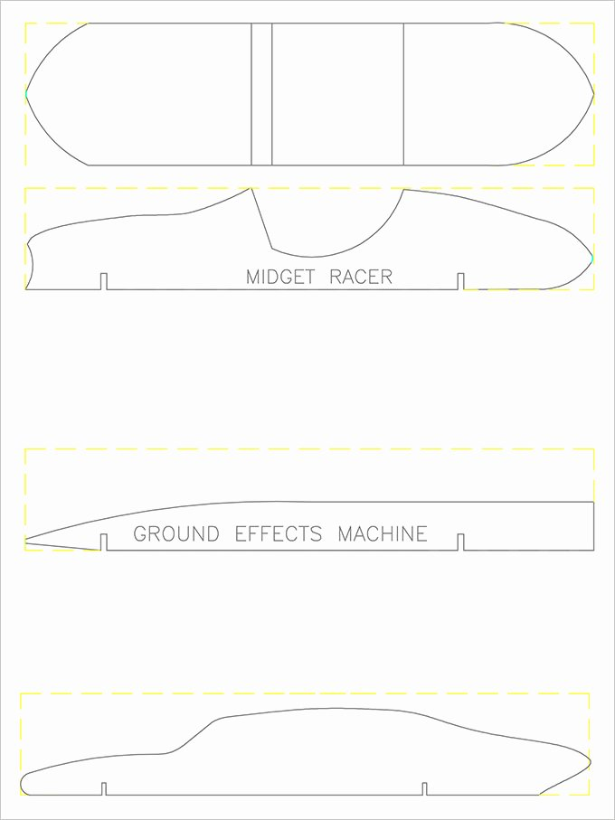 Pinewood Derby Flyer Template New Pinewood Derby Car Templates