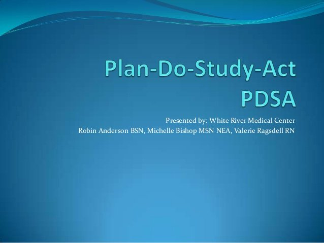Plan Do Study Act Template Awesome Plan Do Study Act