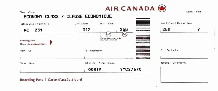 Plane Ticket Template Pdf Best Of Fake Plane Ticket Template Fresh Bus Business Air Free