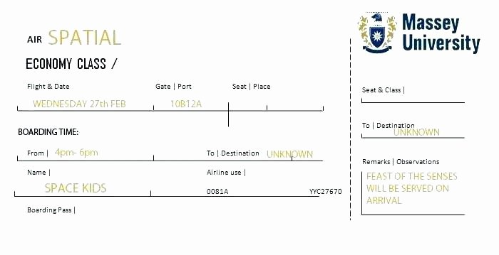 Plane Ticket Template Pdf Best Of Flight Itinerary Template Free Ms Word format Travel
