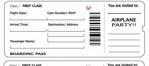 Plane Ticket Template Pdf New Plane Ticket Template Beepmunk