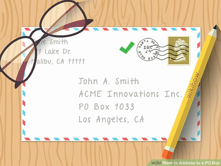 Po Box Letter format Elegant How to Address to A Po Box 10 Steps with Wikihow