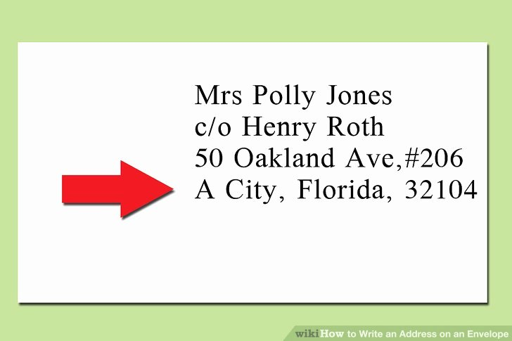 Po Box Letter format Luxury the Proper Way to Write An Address On An Envelope Wikihow
