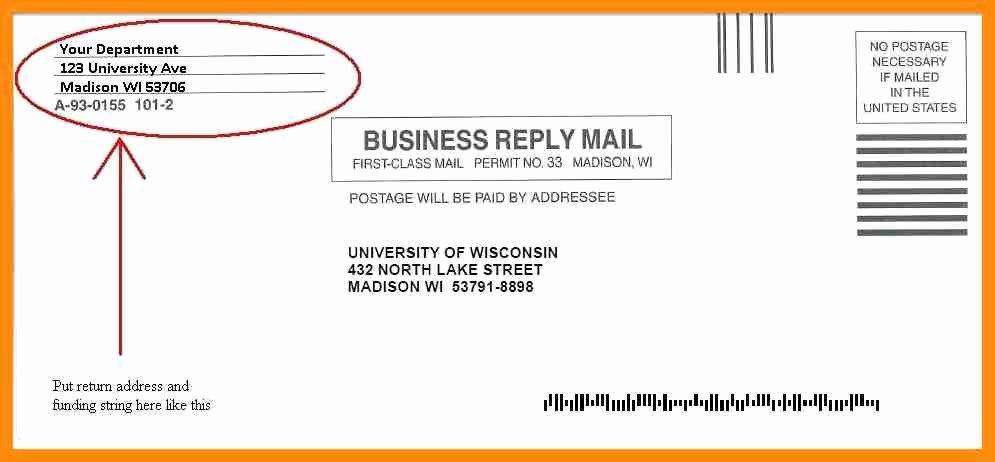Po Box Letter format Unique Envelope Return Address format Filename
