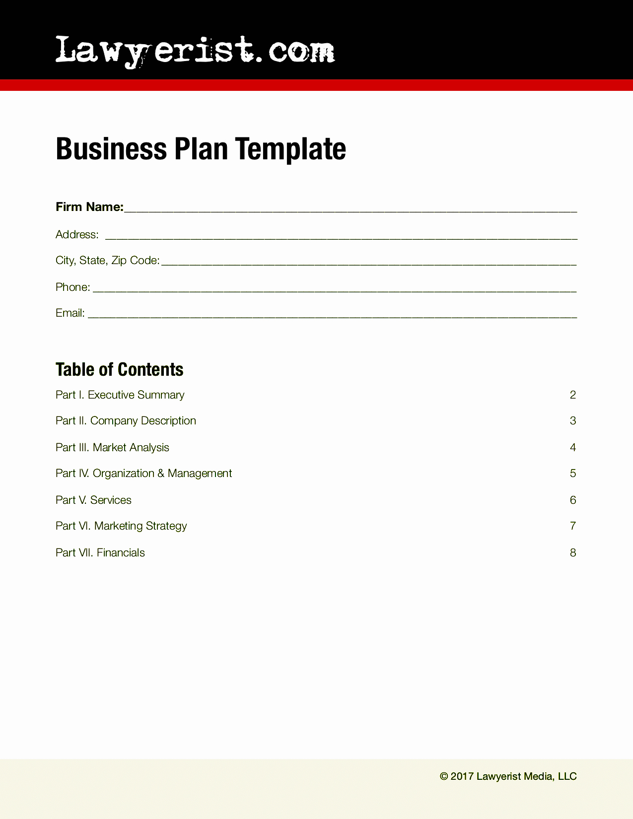 Podcast Business Plan Template Fresh Business Plan Template