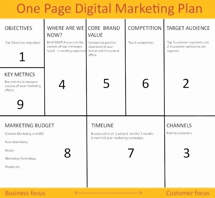 Political Campaign Plan Template Elegant Campaign Template Digital Marketing Campaign Plan Template