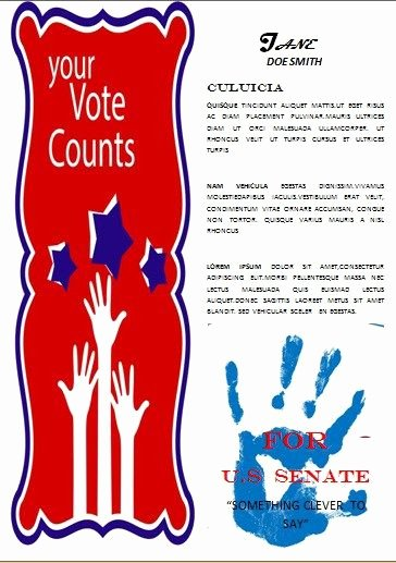 Political Campaign Plan Template Lovely 13 Best Free Political Campaign Flyer Templates Images On