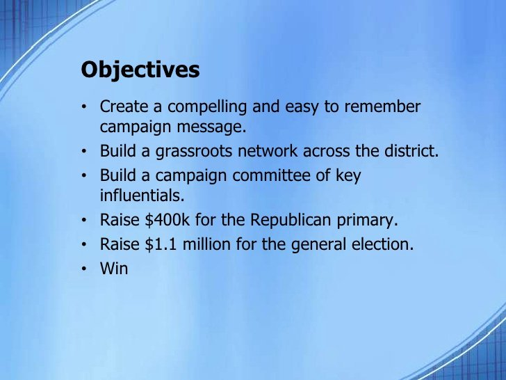 Political Campaign Plan Template Luxury Campaign Plan Template 7 13 10
