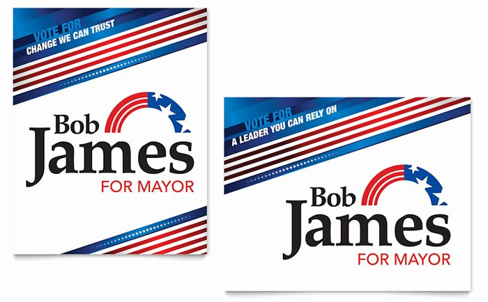 Political Campaign Plan Template Pdf Elegant Political Campaign Poster Template Design
