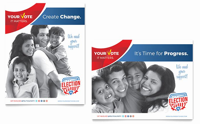 Political Campaign Plan Template Pdf Inspirational Election Poster Template Word & Publisher