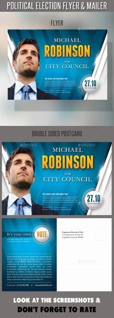 Political Campaign Plan Template Pdf Inspirational Political Campaign Brochure Designs