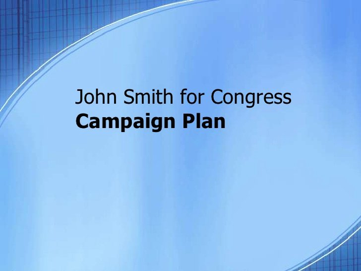 Political Campaign Plan Template Unique Campaign Plan Template 7 13 10