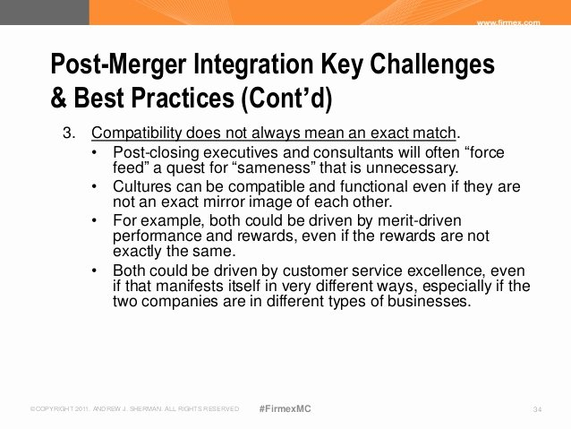 Post Merger Integration Plan Template Unique Ensuring Success In Post Close Integration